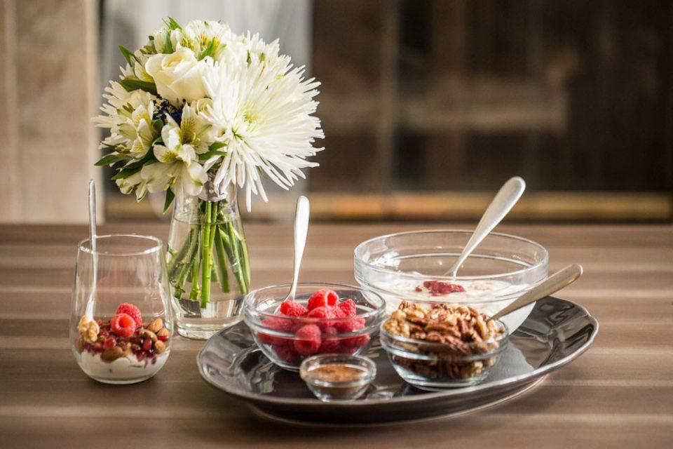 Yogurt Parfait (Wedding Day Bridal Brunch)