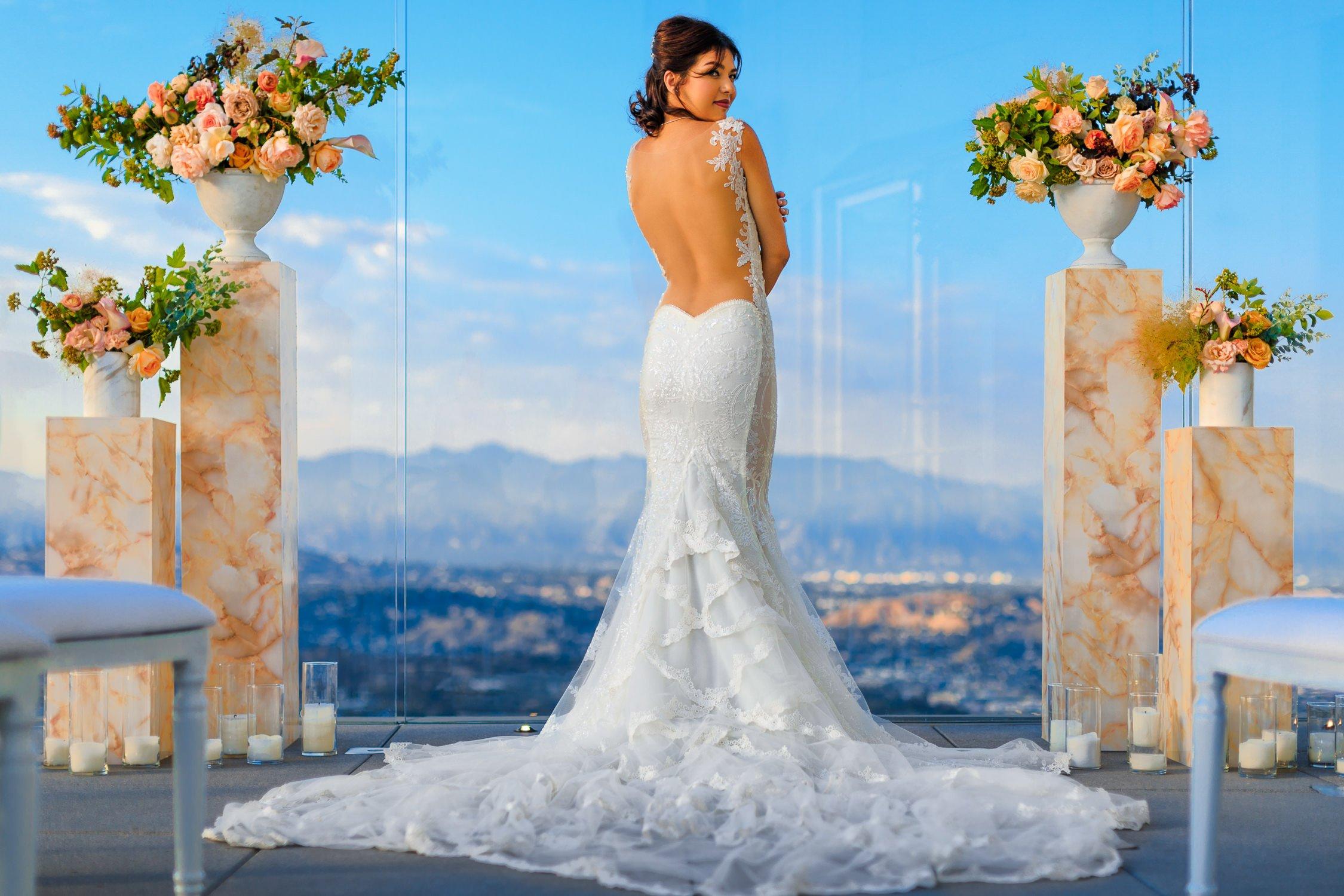 OUE Skyspace Wedding DTLA | Los Angeles Photographer