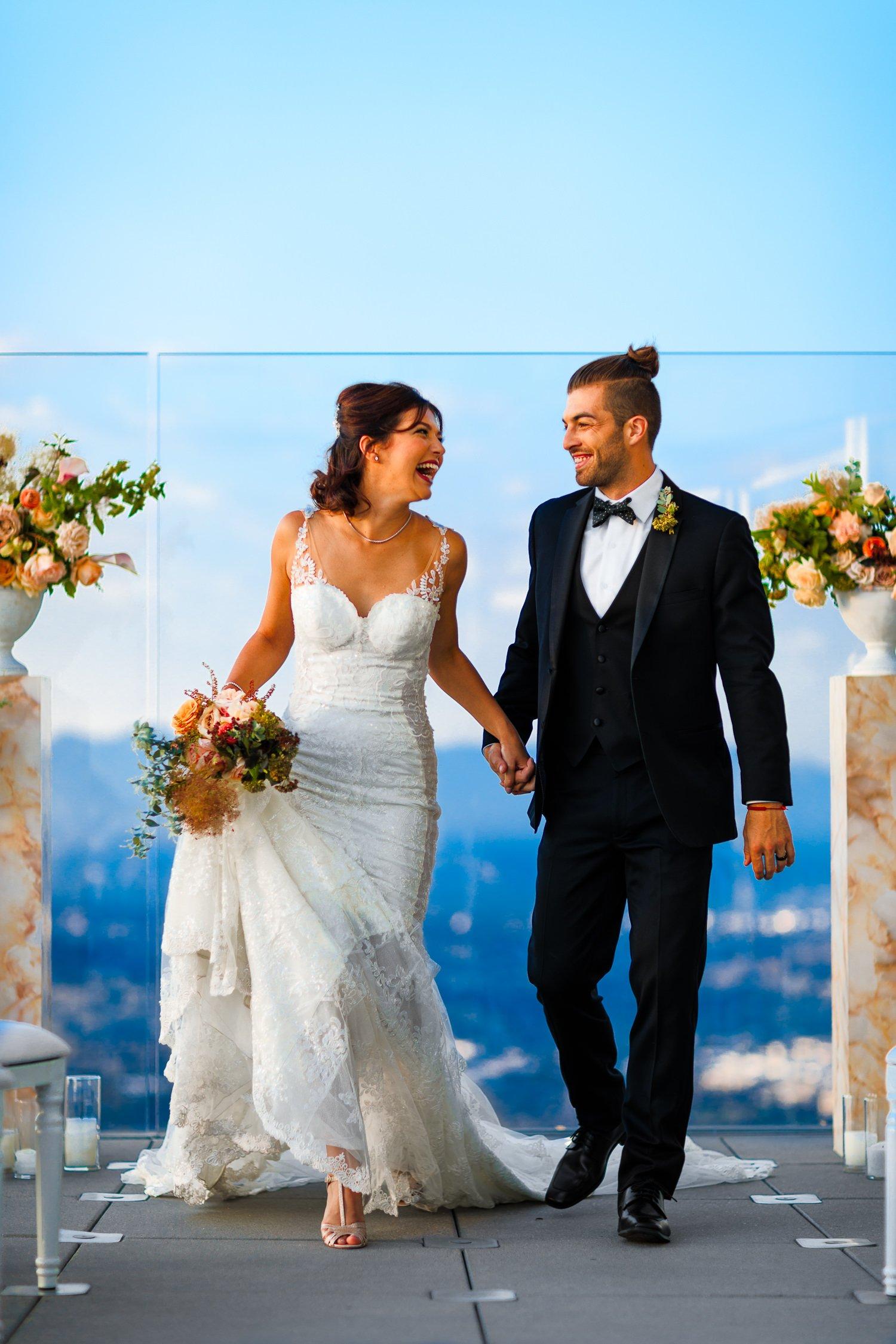 Huntington Beach Cdjr >> OUE Skyspace Wedding DTLA | Los Angeles Photographer